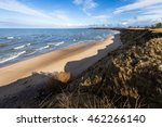 Small photo of Baltic sea coastline in Saraiki, by springtime
