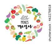 menu for kid | Shutterstock .eps vector #462278818