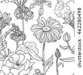 hand drawn sketch illustration... | Shutterstock .eps vector #462280498