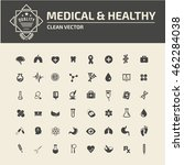 medical icon healthy care icon ... | Shutterstock .eps vector #462284038