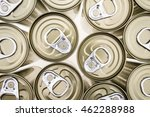Aluminium Canned  Closeup And...