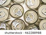Aluminium Canned  Closeup And...