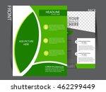 vector flyer  brochure ...   Shutterstock .eps vector #462299449