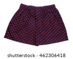 men's boxer shorts isolated on... | Shutterstock . vector #462306418