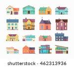 big set of houses  buildings... | Shutterstock .eps vector #462313936