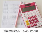 Small photo of bank passbook report money deposit and withdrawal balance in account statement