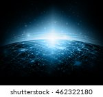 best internet concept of global ... | Shutterstock . vector #462322180