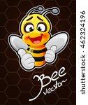 cartoon bee vector illustration | Shutterstock .eps vector #462324196