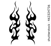 flame vector icon    fire... | Shutterstock .eps vector #462324736
