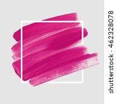 logo brush painted watercolor... | Shutterstock .eps vector #462328078