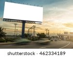 billboard blank for outdoor... | Shutterstock . vector #462334189