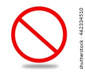 no sign | Shutterstock . vector #462334510