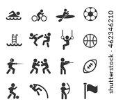 sport icon  | Shutterstock .eps vector #462346210