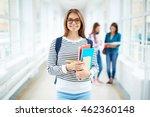 portrait of female college...   Shutterstock . vector #462360148