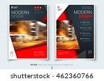 red catalog cover design. ... | Shutterstock .eps vector #462360766