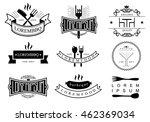 templates of logos and icons of ... | Shutterstock .eps vector #462369034