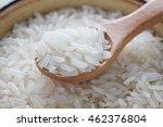 Grain White Rice In A Bowl