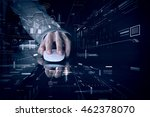 wireless connection 3d... | Shutterstock . vector #462378070