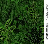 vector seamless vintage pattern.... | Shutterstock .eps vector #462378340