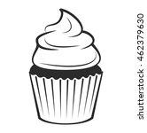 cupcake  | Shutterstock .eps vector #462379630