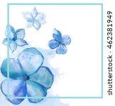 blue violet frame | Shutterstock .eps vector #462381949