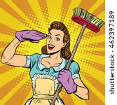 Female Cleaner Cleaning Company ...