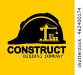 construct building logo ... | Shutterstock .eps vector #462400174