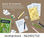 composition back to school with ...   Shutterstock .eps vector #462401710