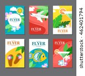 collection of brightly colored... | Shutterstock .eps vector #462401794