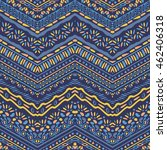 vector african style chevron... | Shutterstock .eps vector #462406318