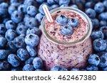 beautiful appetizer blueberry... | Shutterstock . vector #462467380