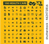 health care icons | Shutterstock .eps vector #462472816