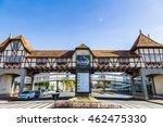 german village park entry ... | Shutterstock . vector #462475330