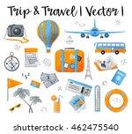 watercolor design vector... | Shutterstock .eps vector #462475540