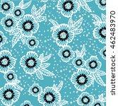 flower pattern | Shutterstock .eps vector #462483970