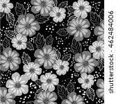flower pattern | Shutterstock .eps vector #462484006