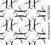 seamless black and white... | Shutterstock .eps vector #46250389