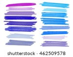 vector lanes drawn with colored ... | Shutterstock .eps vector #462509578