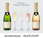 transparent vector glasses and... | Shutterstock .eps vector #462513109