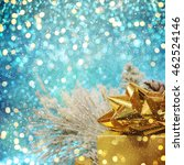christmas decorations and gift... | Shutterstock . vector #462524146