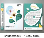 brochure design template vector.... | Shutterstock .eps vector #462535888