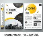 flyers design template vector.... | Shutterstock .eps vector #462535906