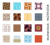 floor materials flat vector... | Shutterstock .eps vector #462541018