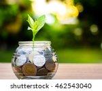 bank piggy bank money coins... | Shutterstock . vector #462543040