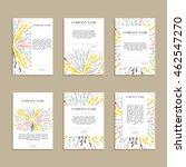 set of cards  letterheads for...   Shutterstock .eps vector #462547270