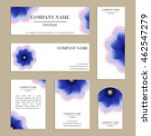 set of cards for design.... | Shutterstock .eps vector #462547279