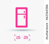 fridge isolated minimal single...   Shutterstock .eps vector #462564586