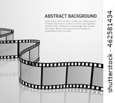 vector cinema movie background... | Shutterstock .eps vector #462581434