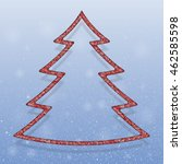falling snow vector. winter...   Shutterstock .eps vector #462585598