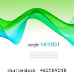 abstract color wave image on a... | Shutterstock .eps vector #462589018